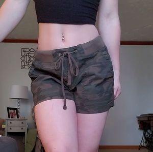 ANA Camo cargo shorts